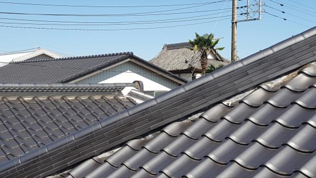 瓦屋根には、ほぼ対応できない
